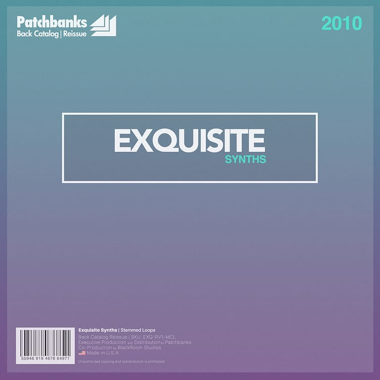 exquisite synths 800x800 R&B