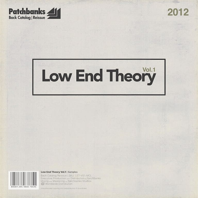 low end theory v1 800px Throwback